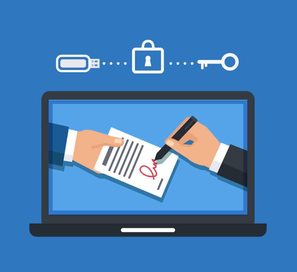 cadre sécurisé legaltech
