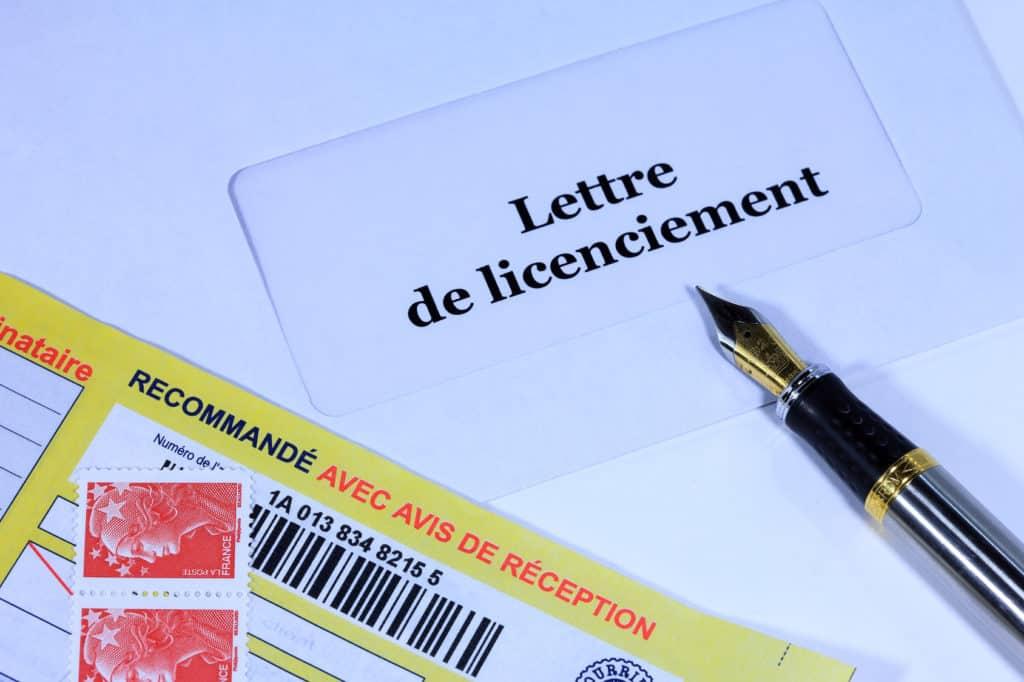 Lettre de licenciement personnel pour motif non disciplinaire