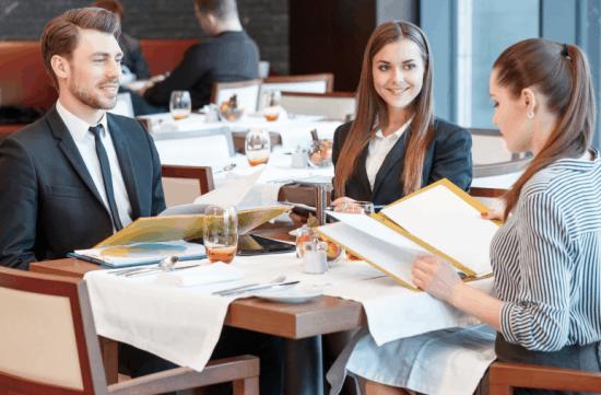 repas d'affaire ticket restaurant