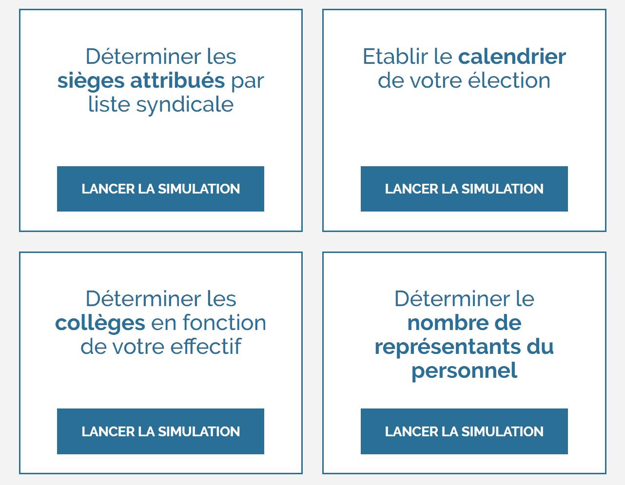 simulateurs élections professionnels cse